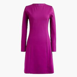 J.Crew Petite Long-sleeve sheath dress