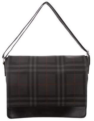 Burberry Beat Check Messenger Bag