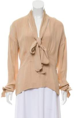 Marni Accented Long Sleeve Top