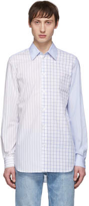 Stella McCartney Blue Mix Check Shirt