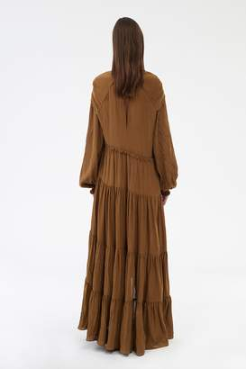3.1 Phillip Lim Long sleeve Gathered Dress