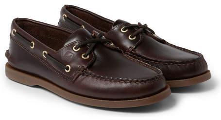 Leather Boat Shoes - ShopStyle Australia