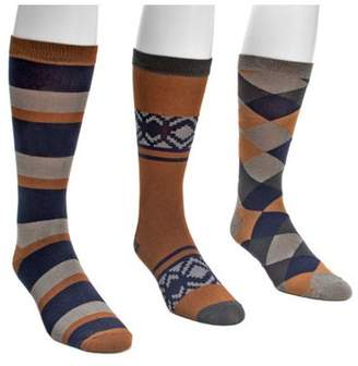 Muk Luks Men's Crew Sock Pack (3 Pair)