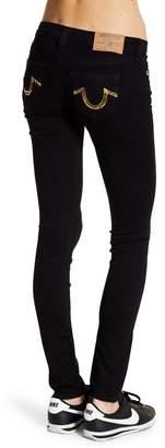 True Religion Sequin Pocket Skinny Jeans