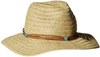 Collection XIIX Women's Sheer Braid Panama Hat $15.19 thestylecure.com