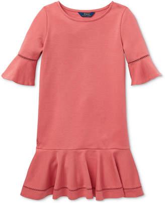 Polo Ralph Lauren Toddler Girls Ponte-Knit Dress