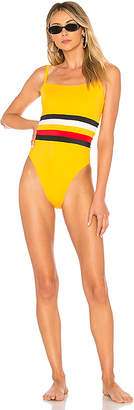 Solid & Striped x RE/DONE The Malibu Colorblock One Piece