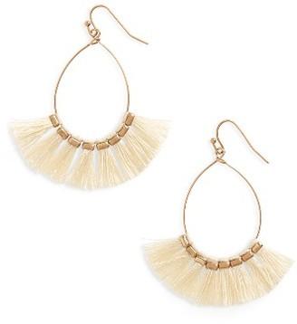 Women's Panacea Tassel Drop Earrings $32 thestylecure.com