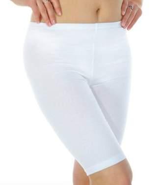 ELEGANCE1234 Women's 2 Pairs Stretchy Cotton Lycra Above Knee Short Active Leggings