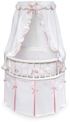 ... Badger Basket Round Bassinet   Solid