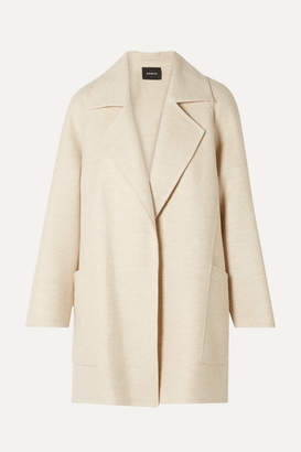 Akris Bessy Cashmere Coat - Cream