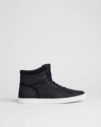 Express Denim High Top Sneaker