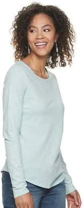 Sonoma Goods For Life Women's SONOMA Goods for Life Essential Crewneck Tee