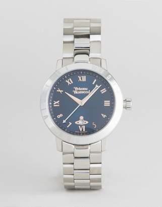 Vivienne Westwood VV152NVSL Bracelet Watch In Silver