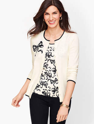 Talbots Charming Cardigan - Bow