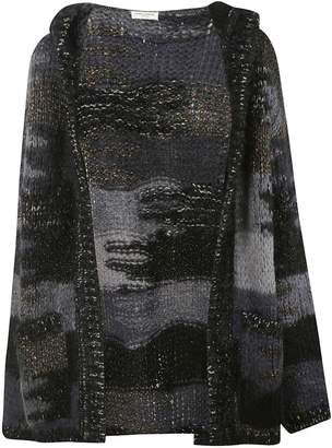 Saint Laurent Camo Knit Cardigan