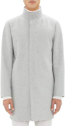 Theory Belvin Modus Melton Wool Blend Coat