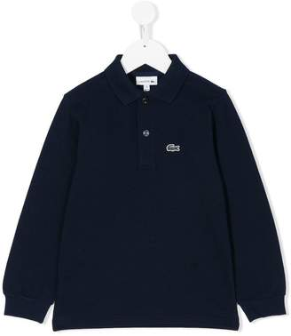 Lacoste Kids long sleeve polo shirt