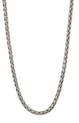 Lois Hill Sterling Silver Hand Woven Wraparound Necklace