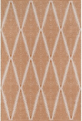 Momeni Erin Gates by River Beacon Handwoven Orange Area Rug Erin Gates by