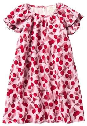 Kate Spade Cherry Ruffled Sleeve Dress (Toddler & Little Girls)