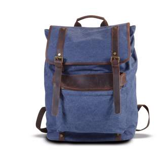 EAZO - Extra large Canvas Backpack Blue