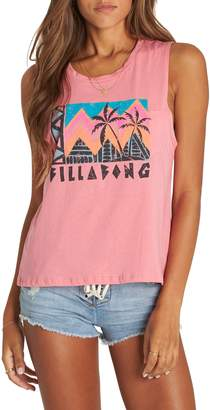 Billabong Find Your Tribe Graphic Muscle Tee
