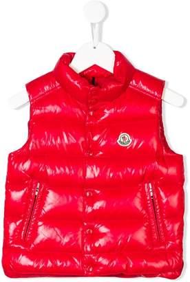 Moncler logo patch embellished gilet