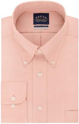 Eagle Men's Non Iron Stretch Collar Regular Fit Solid Dress Shirt