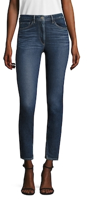 3x1High Rise Double Needle Skinny Jean