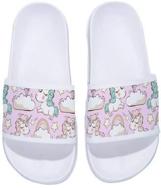 74552e012 Pool  Fhdang Decor Girls and Boys Non-Slip Pool Shower Comfort House Slide  Slippers