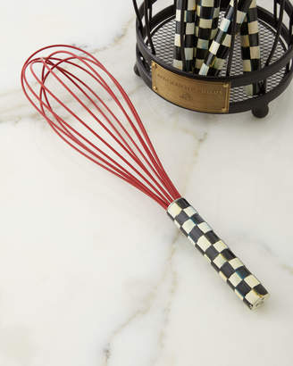Mackenzie Childs Courtly Check Large Red Whisk