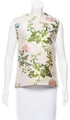Calvin Klein Silk Patterned Top