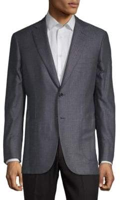 Brioni Plaid Suit Jacket
