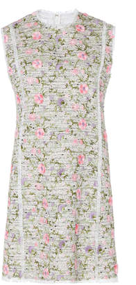 Giambattista Valli Floral-Embroidered Shift Dress