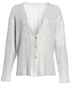 Fabiana Filippi Women's Cashmere Cable-Knit Cardigan