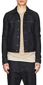 Rick Owens Men's Denim Jacket - Blue