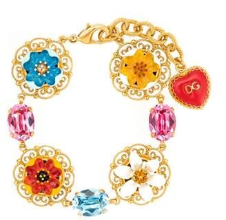 Dolce & Gabbana flower pendant bracelet