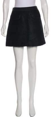 Marc by Marc Jacobs Wool Mini Skirt