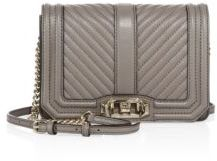 Rebecca Minkoff Small Love Chevron-Quilted Leather Crossbody Bag $195 thestylecure.com