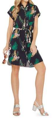 Dorothy Perkins Tropical Shirt Dress