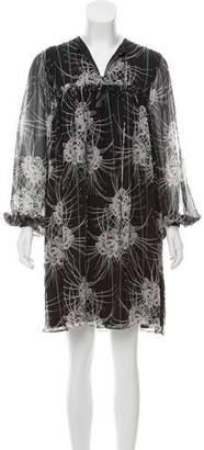 Thomas Wylde Thistle Silk Dress w/ Tags
