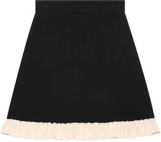 Silk wool a-line skirt $990 thestylecure.com