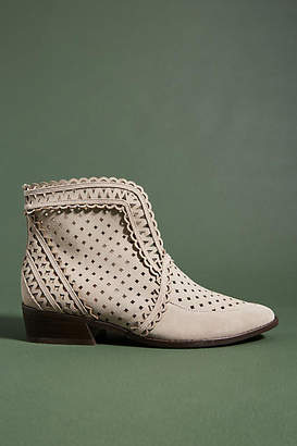 Anthropologie Cecelia New York Tate Perforated Booties