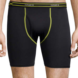 Hanes Men's X-Temp Performance FreshIQ Mesh Boxer Brief