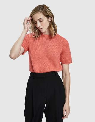 A.P.C. Dorothee Short Sleeve Sweater