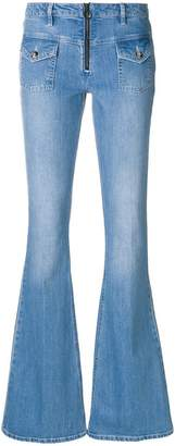 Victoria Beckham Victoria faded flared jeans