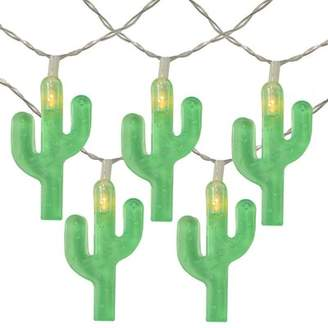 The Party Aisle Cactus Summer 4.5 ft. 10-Light Novelty String Light The Party Aisle