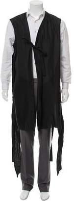 Siki Im Distressed Longline Vest