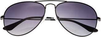 LEN Bertha Brooke Black Sunglasses w/ Polarized Lenses